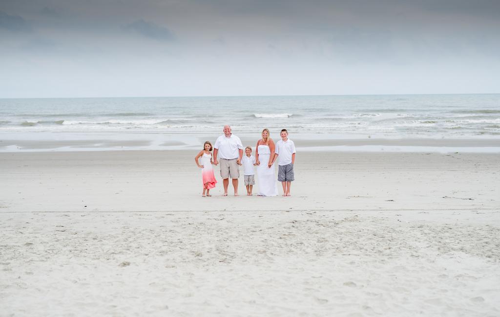 Family Beach Portraits North Myrtle Beach Photography